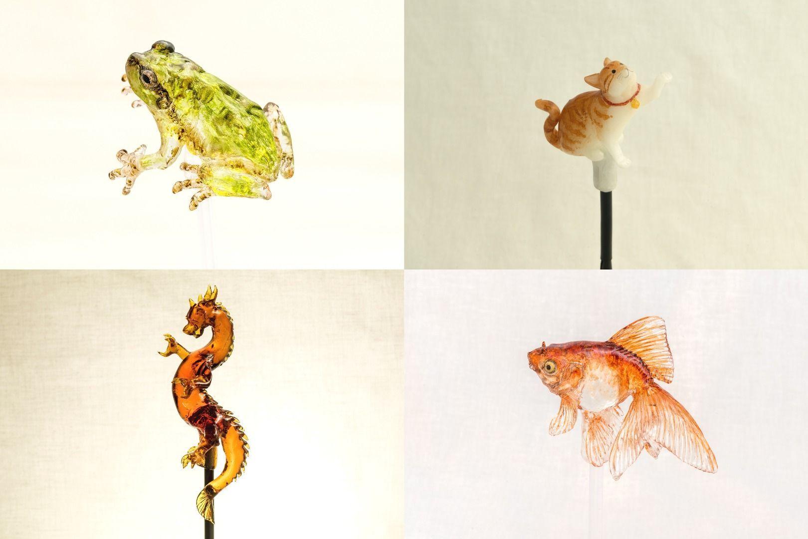 Real-Looking Handheld Fans and Gold Fish! Asakusa Amezaiku Workshop Ameshin