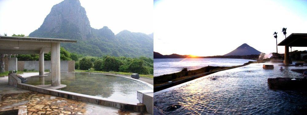 Kagoshima Prefecture Tamatebako Hot Springs, the Healthy Land