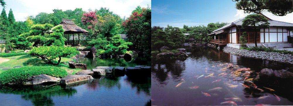 Himeji Castle (Hyogo Prefecture) Kouko-en Park