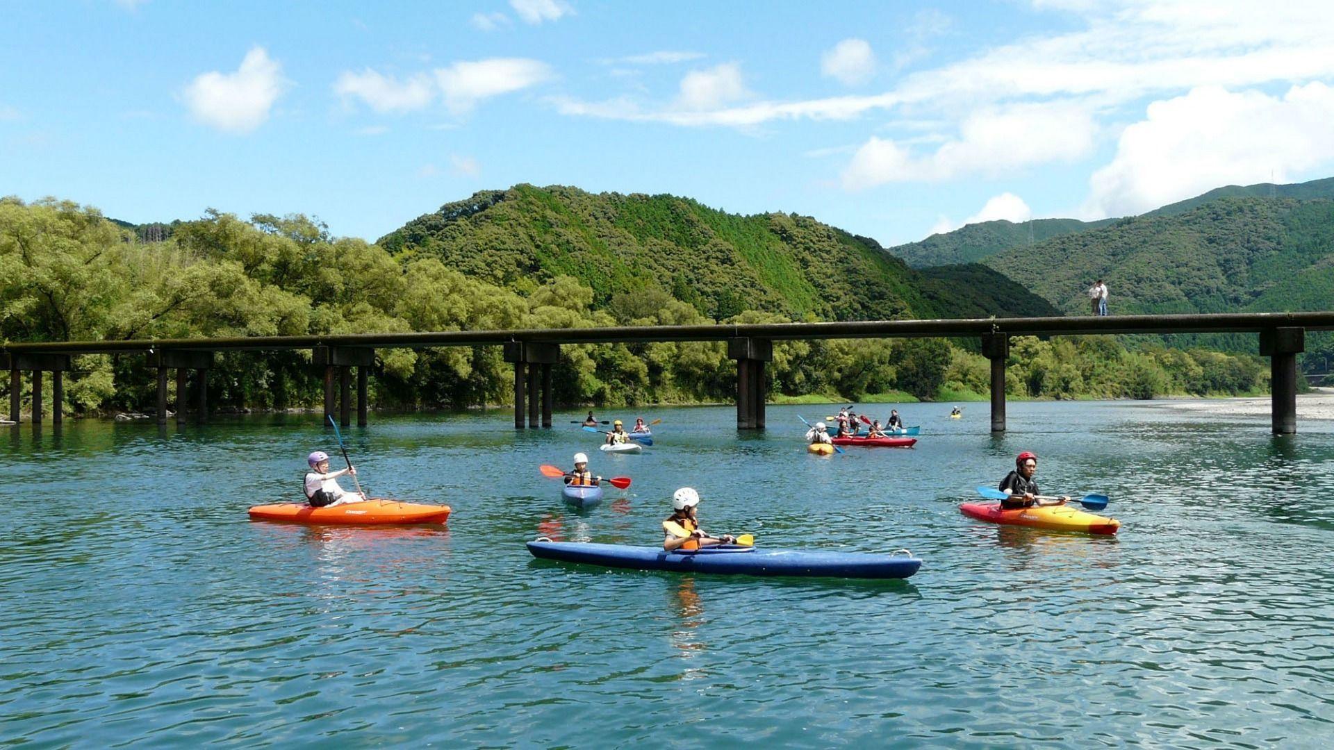 Kochi Prefecture The Shimanto River