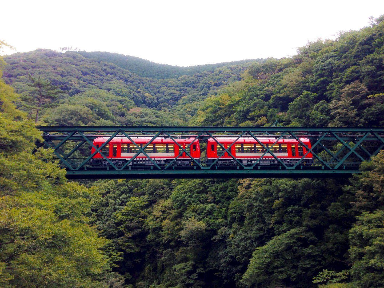 the Hakone Tozan Train
