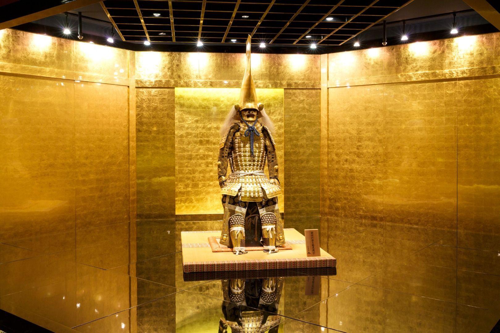 Hakukokan Gold Leaf Museum Toshiie Maeda