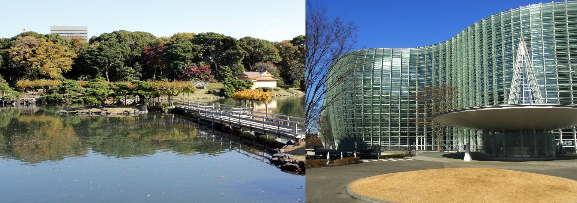 Japan Hamarikyu Garden