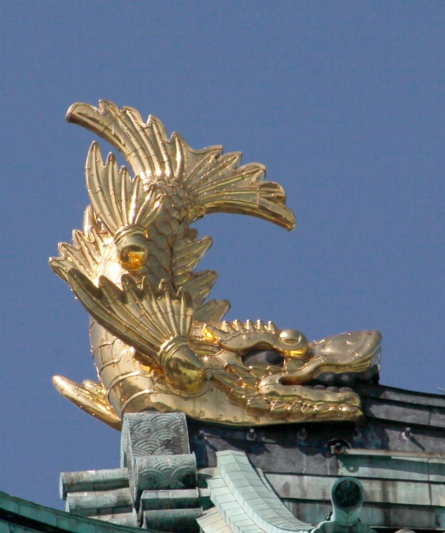 Nagoya castle golden shachi (kinshachi)