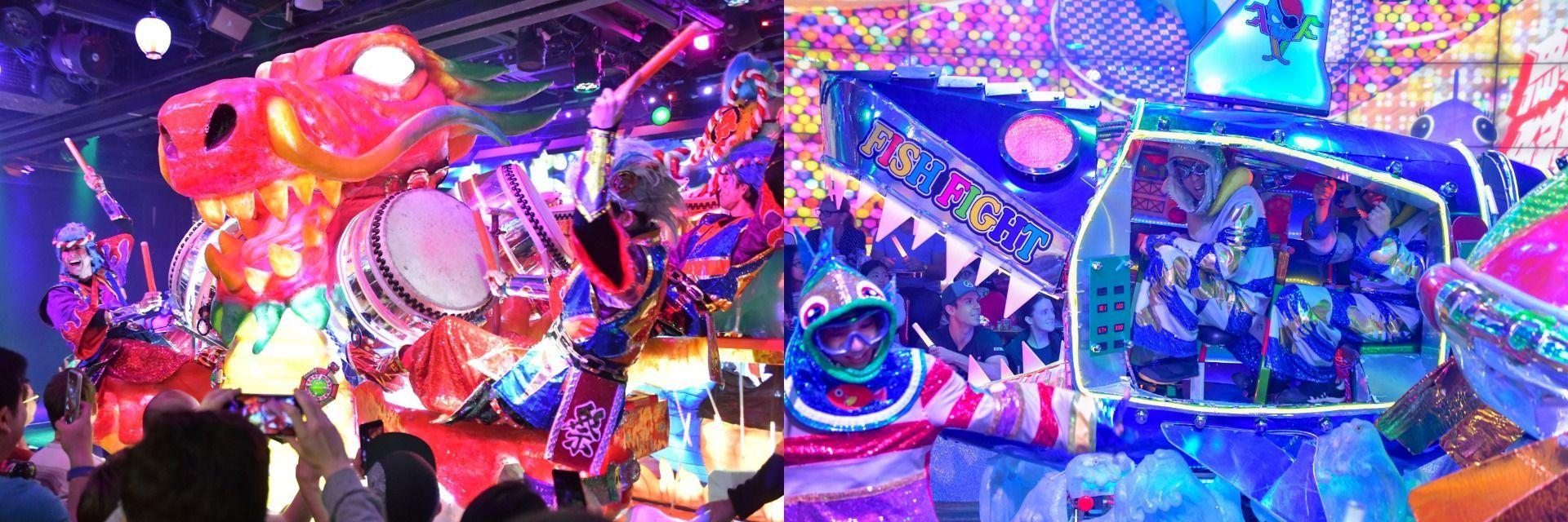 Robot Restaurant the New Landmark for Entertainment in Shinjuku