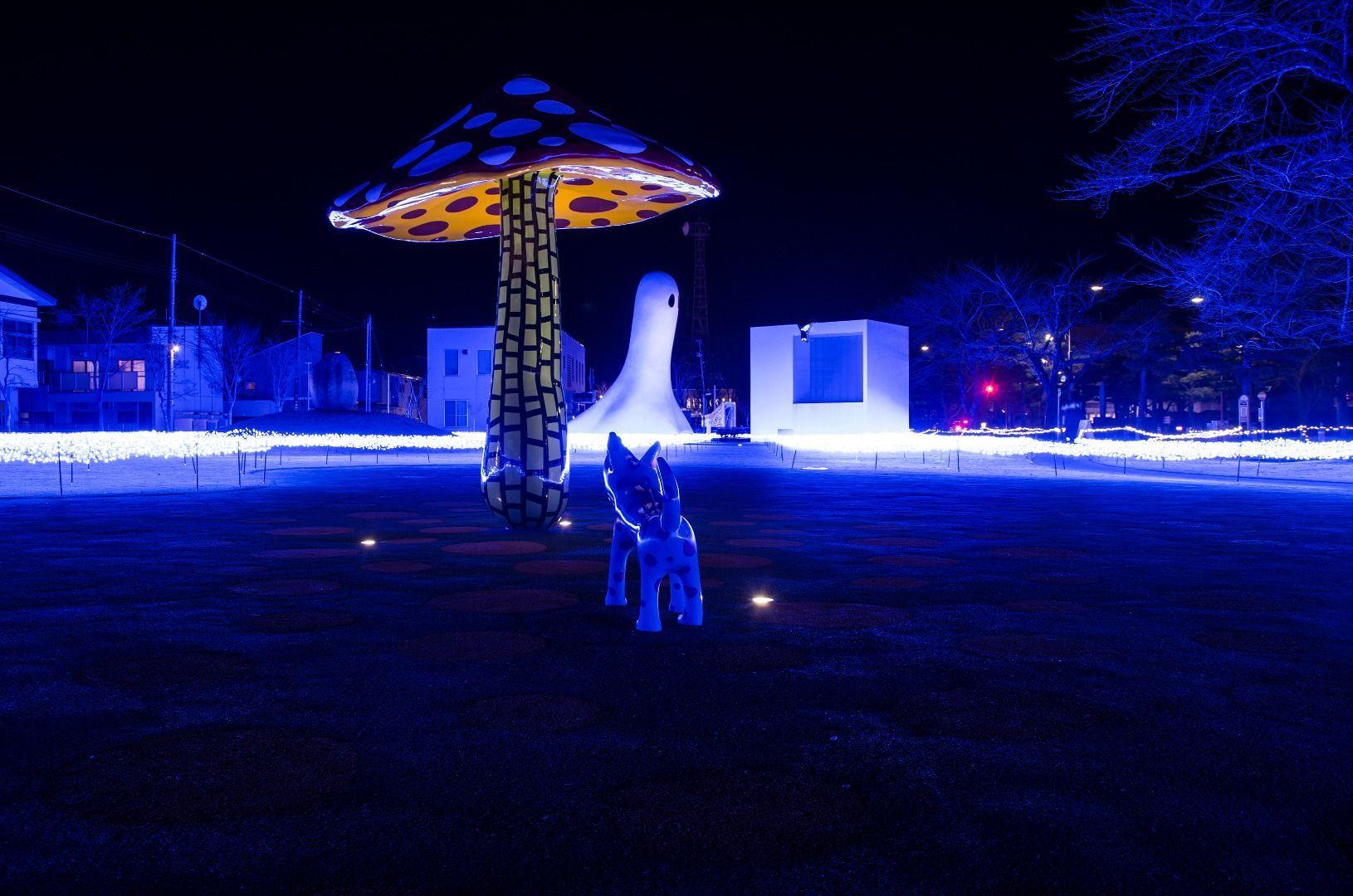Arts Towada Winter Illumination(Aomori Prefecture)