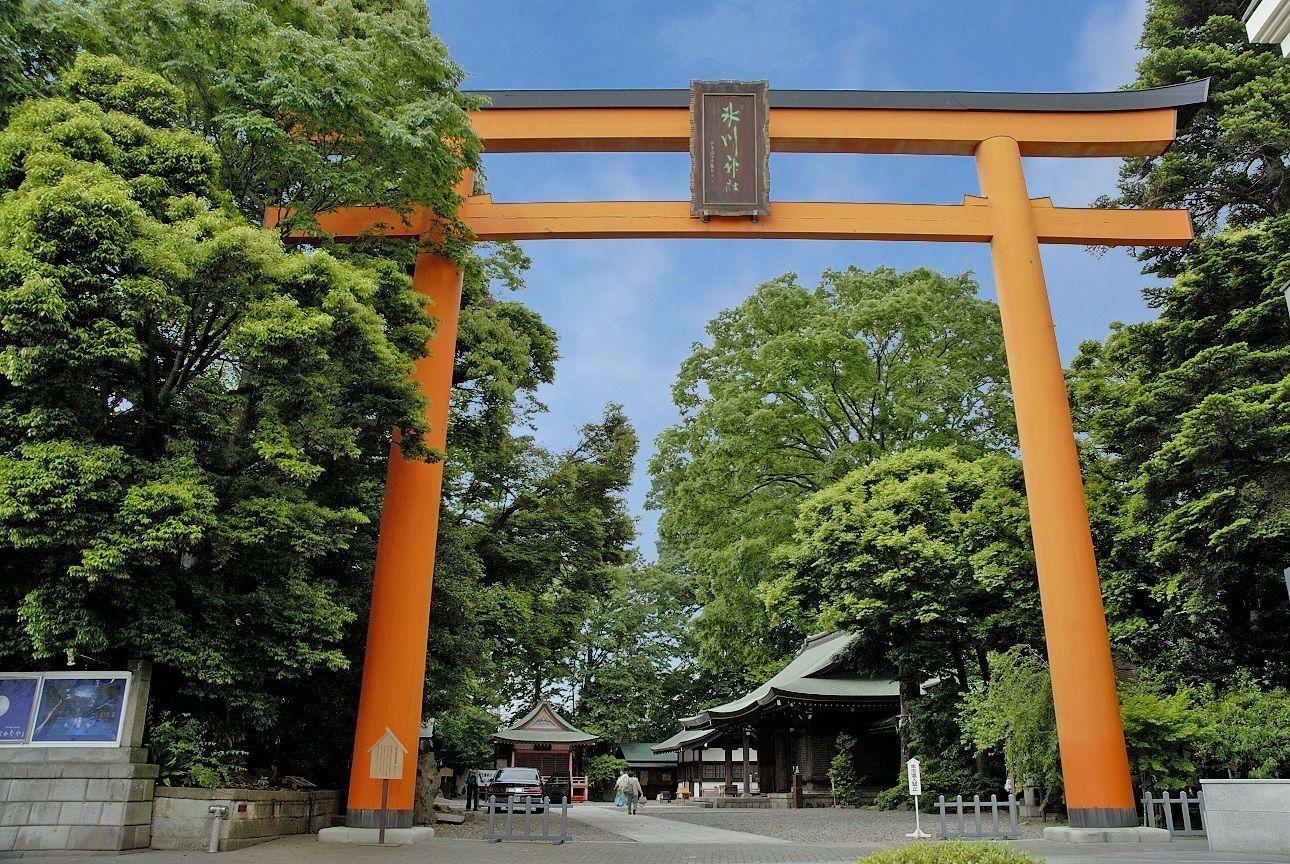Kawagoe Hikawa Shrine Otorii