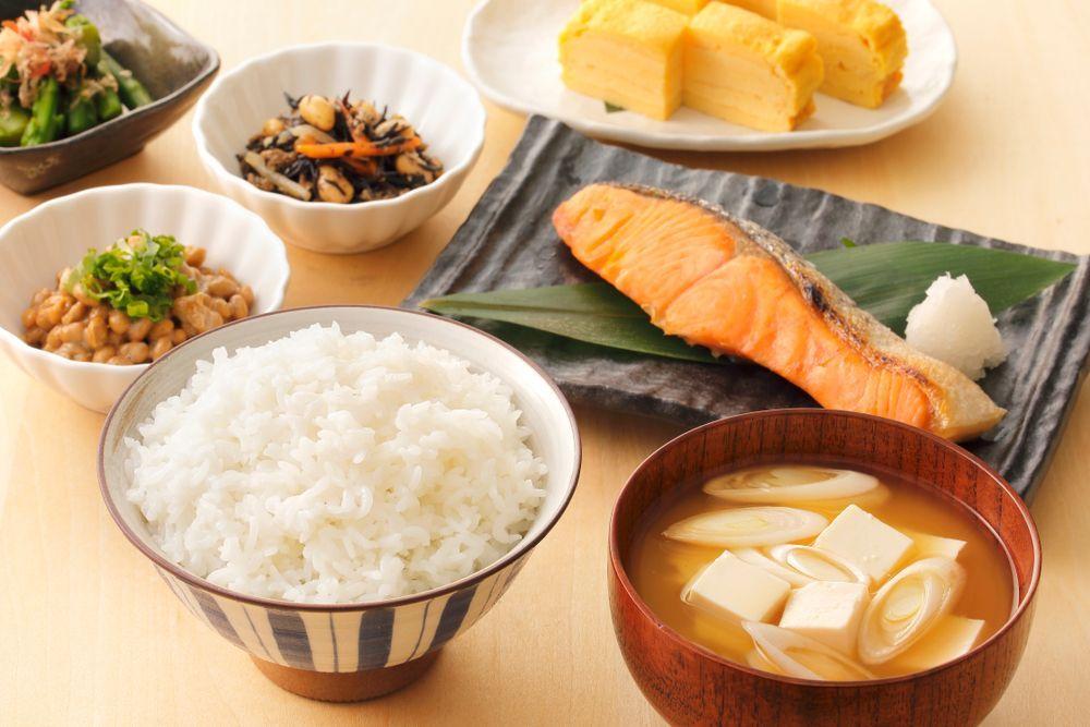 Japan wasyoku morning foods