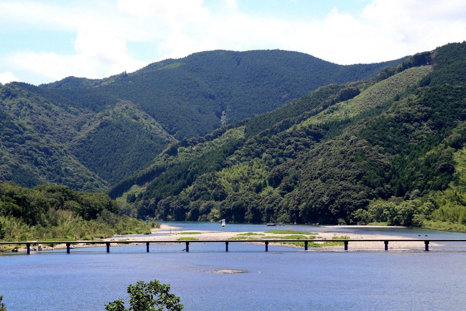 The Sinking Bridge (Chinkabashi) Shikoku