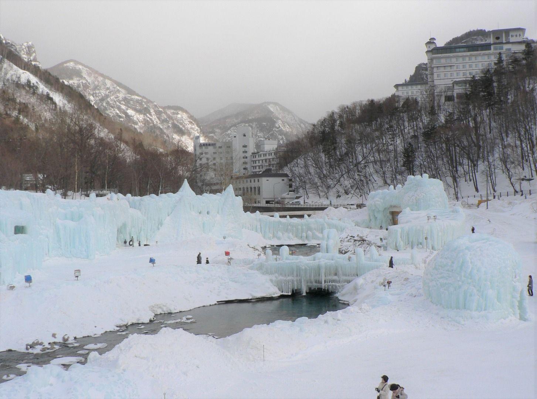 Visiting Hokkaido in February? Make your way to Sounkyo Onsen's Hyobaku Festival! Sounkyo Gorge (Hokkaido)