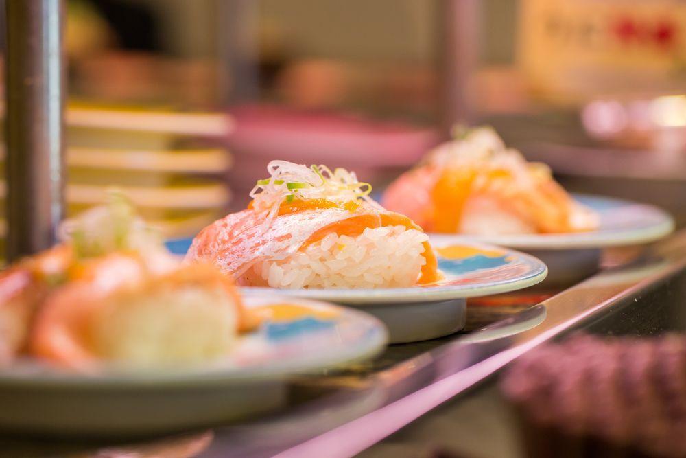 """Japan Kaitenzushi """"Sushi-go-around"""" bars"""