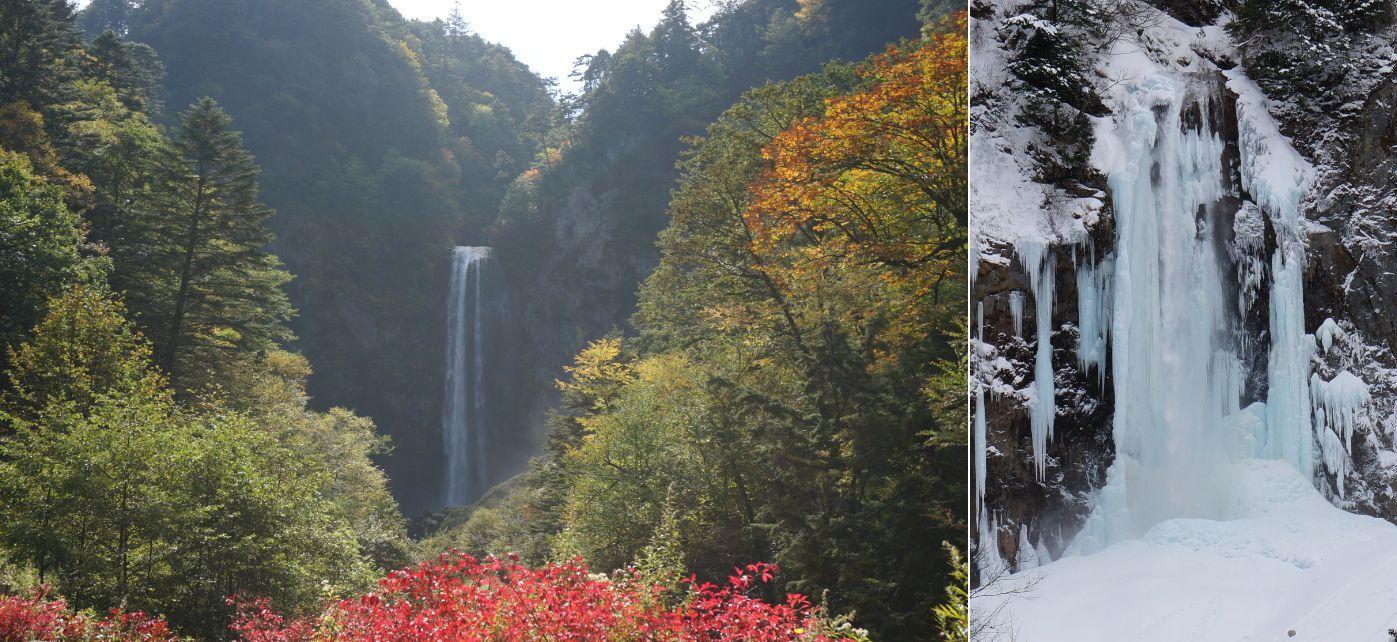 Hirayu-Odaki Keppyo Festival is just as Popular! Hirayu Grand Waterfall (Gifu)