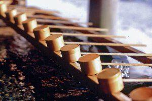 "Wash Money for Increased Fortune!?  Popular Shrine for Money Luck - Zeniarai Benzaiten Shrine (Kanagawa prefecture) Hishaku"" (water ladle)"