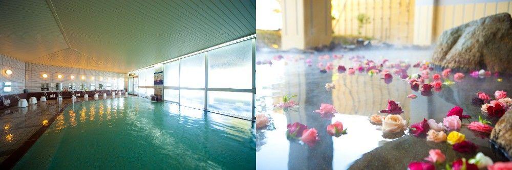 The ladies-exclusive Rose Bath