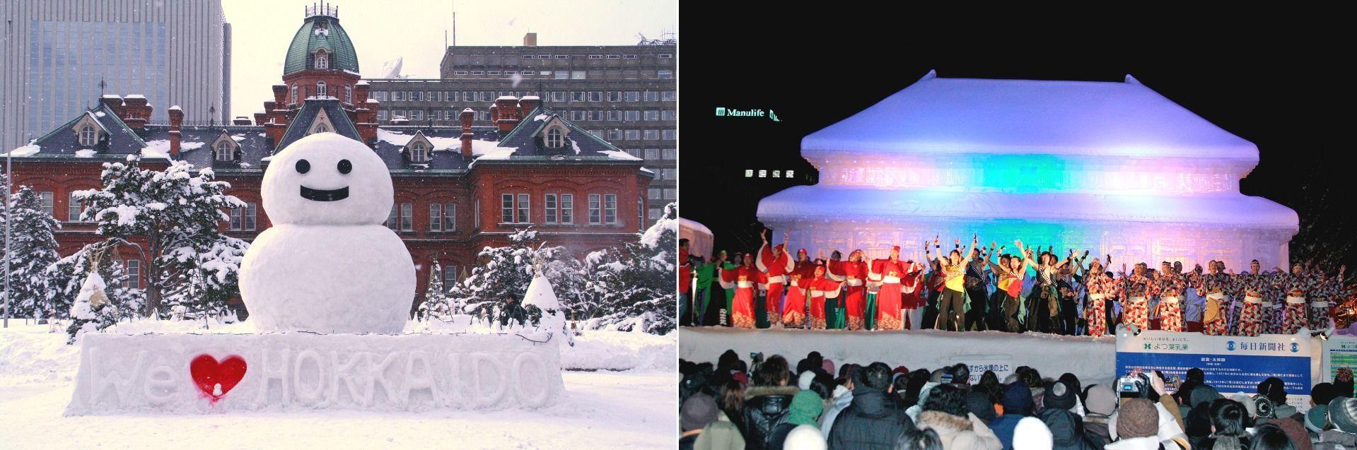 Hokkaido Sapporo Snow festivals