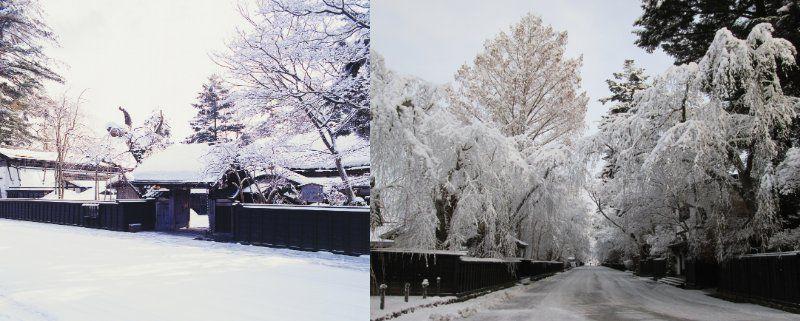"Rental Kimono and Photo Shooting at Samurai Residences!  ""Samurai Houses of Kakunodate"" (Akita Prefecture)"