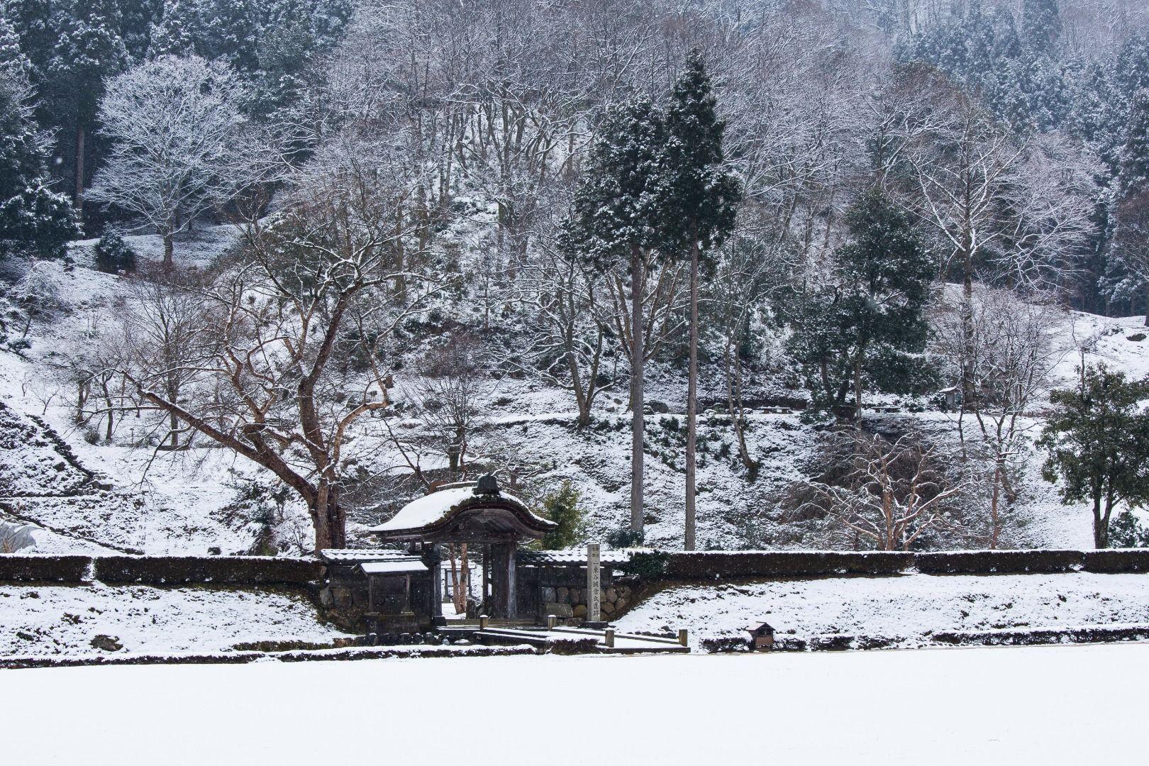 Ichijodani Asakurashi Iseki (Fukui Prefecture)