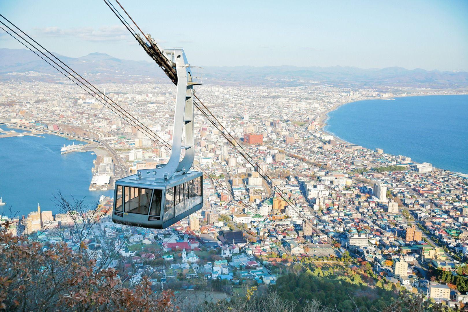 Mt. Hakodate Observation Deck Hokkaido