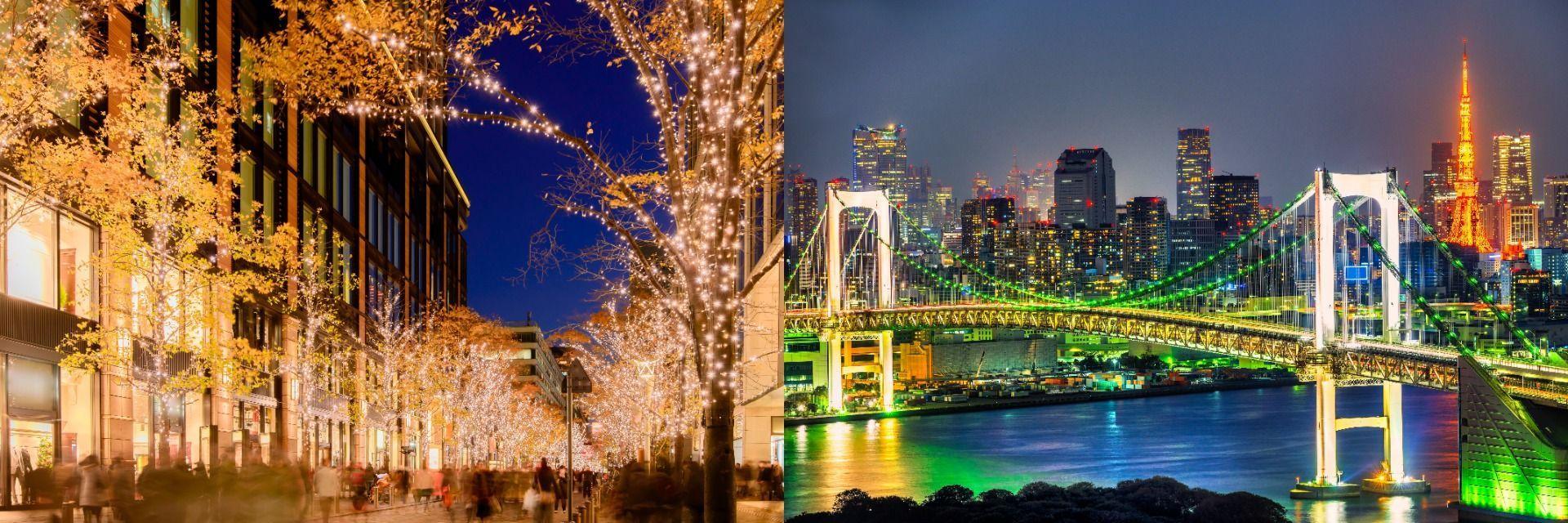 Shibuya, Roppongi, Omotesando Illumination Japan