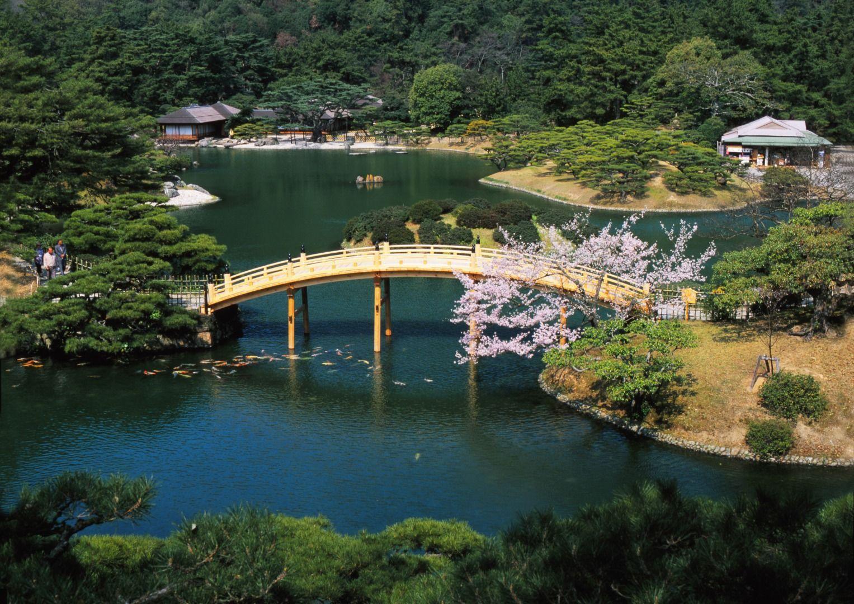 Ritsurin Koen Kagawa Prefecture