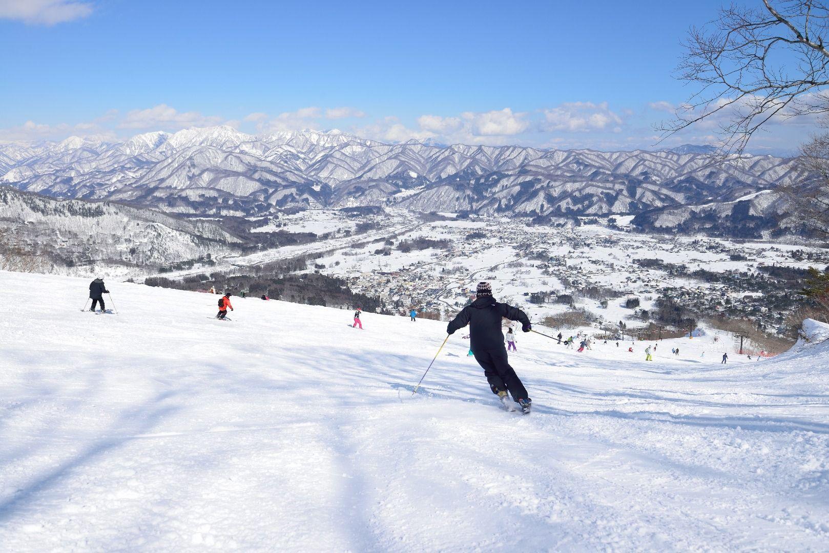 Ski resorts in Japan